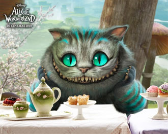Cheshire Cat by Disney 2010